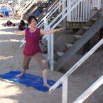 Yoga - beach hut